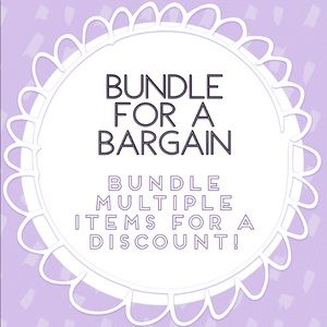 bundle items for a discount !!!